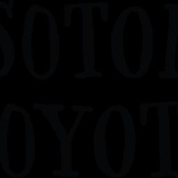 Sotol Coyote Wordmark Logo