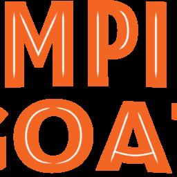 Jumping Goat Wordmark Logo